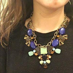 j.crew embellished statement necklace